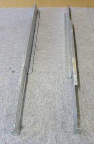 "Generic Left & Right 1U 20"" To 30"" Adjustable Rack Mount Rails For Server Racks"